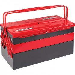 Boîte à outils - 5 comportiments - 470 x 220 x 215 mm - métal - FACOM - Boîte à outils / Rangement - SI-514074