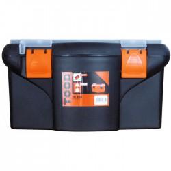 Boîte à outils en plastique - TB 216 - 42 cm - TOOD - Boîte à outils / Rangement - BR-504148