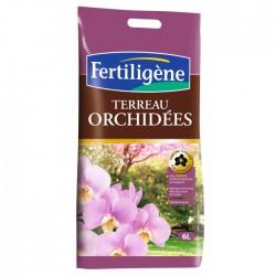 Terreau pour orchidées - 6 L - FERTILIGENE - Terreau - BR-130405