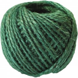 Corde de jardinage - Jute - 50 m - Vert - CATRAL - Autres accessoires - BR-143463