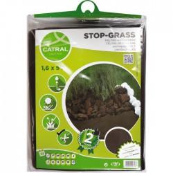 Feutre de paillage - Polypropylène - 6 M - CATRAL - Protection des plantes - BR-143451