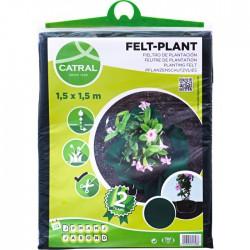 Feutre de plantation - Polypropylène - 1.5 m - CATRAL - Protection des plantes - BR-143449