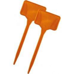 Repères en polypropylène pour plantations - 15 cm - Lot de 10 - CATRAL - Tuteurs / Cordes / Étiquettes - BR-143455