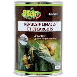 Répulsif escargots et limaces - 100 m² - 400 Grs - STAR - Traitements Insectes / maladies - DE-615013