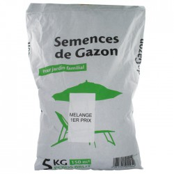 Gazon universel- 5 Kgs - 150 m² - Gazon et pelouse - BR-057132