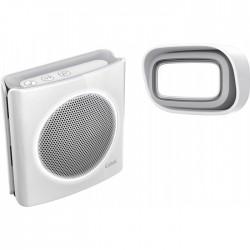 Carillon enfichable sans fil - Dibi Flash - Plug - 200 M - EXTEL - Carillons / Sonnettes / Interphones - BR-536534
