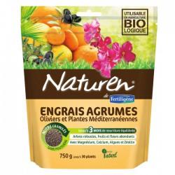 Engrais agrumes, Oliviers et plantes méditerranéennes - 750 Grs - NATUREN - Agriculture biologique - BR-130412