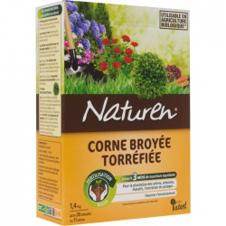 Corne broyée torréfiée pour fertilisation - 1.4 Kg - NATUREN - Agriculture biologique - BR-131171