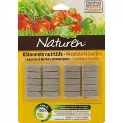 Batonnet nutritif - Légumes et herbes aromatiques - 20 batonnets - NATUREN - Agriculture biologique - BR-218181