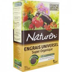 Engrais universel - Super organique - 1.5 Kg - NATUREN - Agriculture biologique - BR-131397