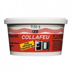 Colle mastic réfractaire - CollaFeu - 300 Gr - GEB - Mastic maçonnerie - BR-467243