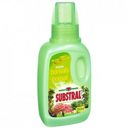 Engrais liquide pour bonsaïs - 250 ml - SUBSTRAL - Engrais et activateur - BR-218150