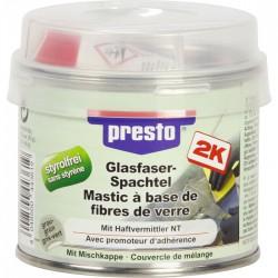 Mastic polyester avec fibre de verre - 250 Grs - Gris clair - PRESTO - Autres Mastics - BR-505163