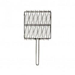 Gril à sardines pour barbecue - 34 cm - TELLIER - Accessoires Barbecue - BR-305880