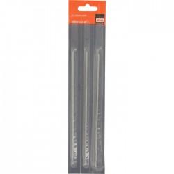 Lime pour chaîne de tronçonneuse - 150 mm - Lot de 3 - 3.2 mm - BAHCO - Accessoires tronçonneuses - BR-457604