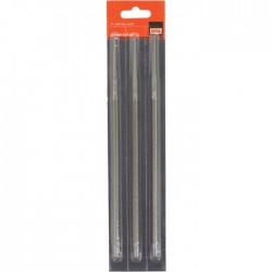 Lime pour chaîne de tronçonneuse - 200 mm - Lot de 3 - 5.2 mm - BAHCO - Accessoires tronçonneuses - BR-176116