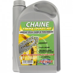 Huile filante spéciale chaine tronconneuse - Bidon 2 l - MINERVA - Entretien outillage - BR-438313