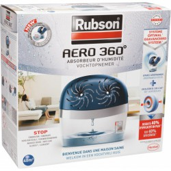 Absorbeur d'humidité Power Tab - 40m2 - RUBSON - Humidité / moisissures - BR-536694
