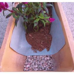 Feutre de plantation - Polyester- 3 M - Drainix - CATRAL - Protection des plantes - BR-143448