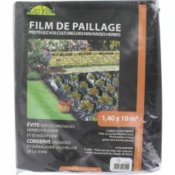 Film de paillage - Protection mauvaises herbes - 10 M - CAP VERT - Protection des plantes - BR-016050
