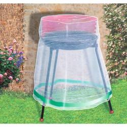 Housse de protection ronde pour barbecue - CAP VERT - Protection mobilier jardin - BR-016210