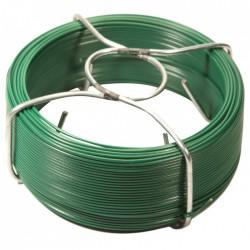 Bobinots fil attache - Acier galvanisé plastifié - Vert - 100 M - FILIAC - Fils d'attache grillage - BR-154125