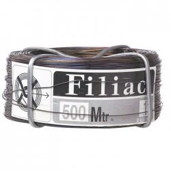 Bobinots fil attache - Acier recuit - 500 M x 0.55 mm - FILIAC - Fils d'attache grillage - BR-157768
