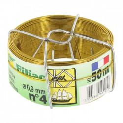 Bobinots fil attache - Laiton - 50 M - FILIAC - Fils d'attache grillage - BR-154784