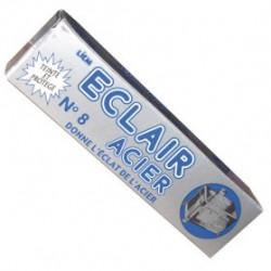 Entretien acier - Éclair acier N°8 - 75 Gr - LIEM - Entretien des métaux - BR-130184