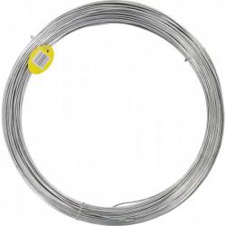 Fil de tension pour grillage - Acier galvanisé - N°14 - 100 M x 2.2 mm - FILIAC - Fils d'attache grillage - BR-620122