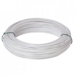 Fil de tension pour grillage - Acier galvanisé plastifié - Blanc - 25 M x 2 mm - FILIAC - Fils d'attache grillage - BR-619973