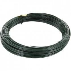Fil de tension pour grillage - Acier galvanisé plastifié - Vert - 100 M x 2.75 mm - FILIAC - Fils d'attache grillage - BR-419645