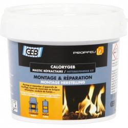 CaloryGeb - Mastic réfractaire pour cheminée - 600 Gr - GEB - Autres Mastics - BR-019038