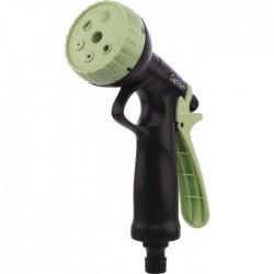 Pistolet à pomme jet progressif - 6 positions - Poignée arrière - CAP VERT - Pistolets / Lances arrosage - BR-098148