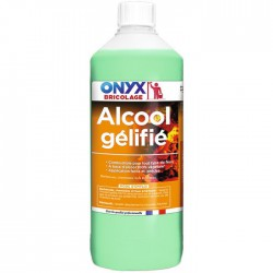 Alcool Gélifié - Allumage tous types de feu - 1 L - ONYX - Allume-feux - BR-654248