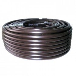 Tuyau avec goutteurs incorporés pour irrigation bordure - 13.5 x 16 mm - 100 M - CAP VERT - Tuyaux pour micro-irrigation - BR...
