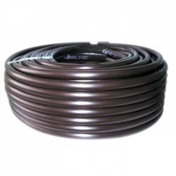 Tuyau avec goutteurs incorporés pour irrigation bordure - 13.5 x 16 mm - 25 M - CAP VERT - Tuyaux pour micro-irrigation - BR-...