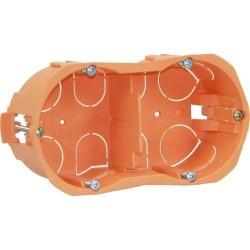 Boîte d'encastrement - Double entraxe - Capriclips verticale - 40 mm - CAPRI - Boites d'encastrement et dérivation - BR-113134