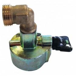 Adaptateur valve pour Butagaz - 27 mm - EUROGAZ - Vannes et raccords Gaz - BR-047643