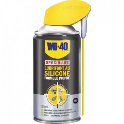Lubrifiant au silicone Formule propre - 250 ml - WD-40 Spécialist - Solvant / Graisse - BR-676901