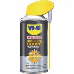 Huile de coupe Tous usinages - 250 ml - WD-40 Spécialist - Solvant / Graisse - BR-678904