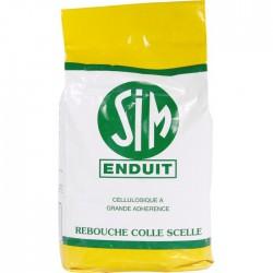 Enduit cellulosique en poudre - 5 Kg - SIM - Enduit de rebouchage - BR-134031