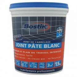 Joint de carrelage - Pâte Blanc - 1.5 Kgs - BOSTIK - Joint de carrelage - BR-601100