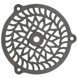 Grille de ventilation en fonte - Fixe - 130 mm - JARDINIER MASSARD - Grille de ventilation - BR-632597
