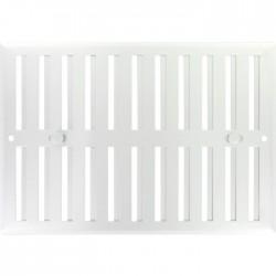Grille de ventilation obturable - métal - 240 x 165 mm - Aluminium - DMO - Grille de ventilation - BR-421559