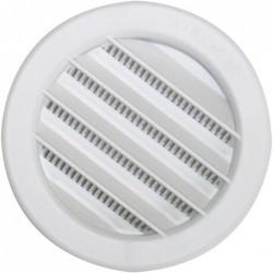 Grille de ventilation universelle à encastrer - Plastique - Ronde - 80 mm - DMO - Grille de ventilation - BR-192175