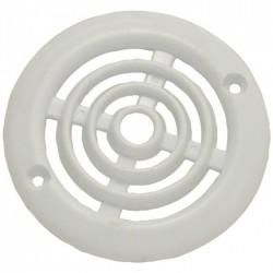 Grille de ventilation en applique pour contre cloison - Plastique - Ronde - 64 mm- DMO - Grille de ventilation - BR-192185