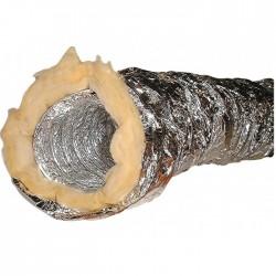 Conduit souple isolé en aluminium - 127 mm x 10 M - DMO - Gaines et conduits - BR-730901