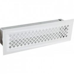 Grille de décompressionavec précadre - 60 x 195 mm - DMO - Grille de cheminée - BR-730897