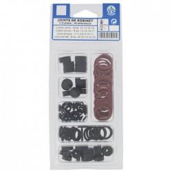 Coffret de 112 joints pour robinet - Assortiment de 19 références - GRIPP - Assortiment de joints - BR-585300